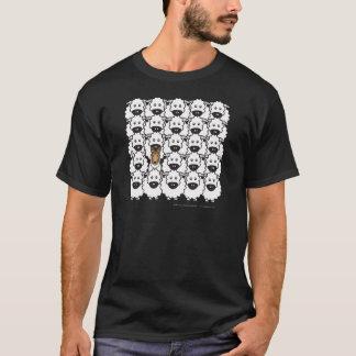 T-shirt Colley lisse chez les moutons