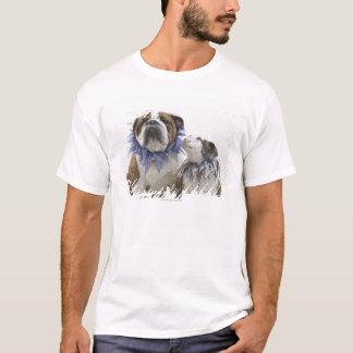 T-shirt Collier de port britannique de farceur de