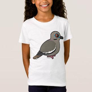 T-Shirt colombe Blanc-à ailes