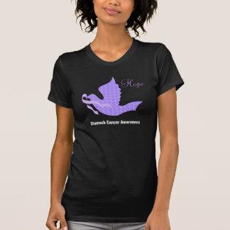 T-shirt Colombe de ruban de bigorneau d'espoir - cancer de