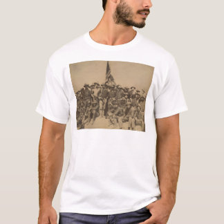 T-shirt Colonel Roosevelt et son Rough Riders