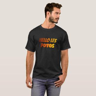 T-Shirt color Hello les potos !