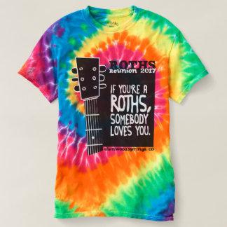 T-shirt Colorant de cravate