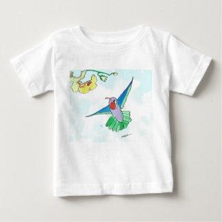 T-shirt coloré du Jersey d'amende de bébé de