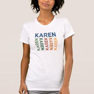 T-shirt Coloré mignon de Karen