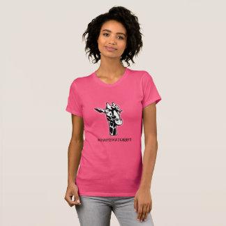 T-shirt coloré par #GiraffeWatch2017 (femmes)
