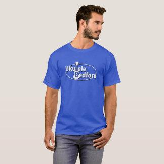 T-shirt coloré par obscurité de Bedford d'ukulélé