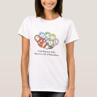 T-shirt coloré russe des poupées | |