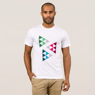 T-shirt Colorful Triangles
