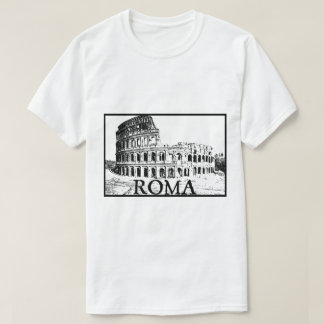 T-shirt Colosseum romain