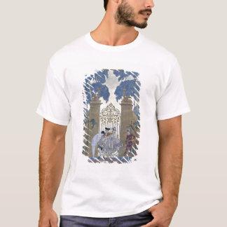 """T-shirt Columbine, illustration pour des """"fêtes Galantes"""""""