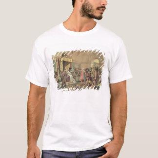 T-shirt Columbus à la cour royale de l'Espagne à Barcelone