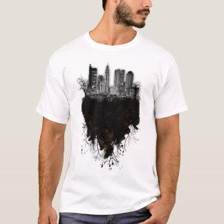 T-shirt Columbus grunge Skyscrape