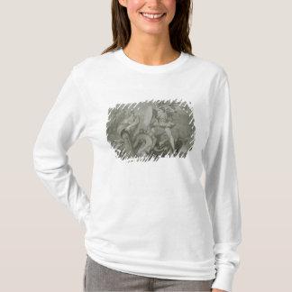 T-shirt Combat d'Achille avec la rivière Scamander