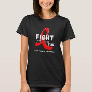 T-shirt Combat de conscience de maladie cardiaque pour le