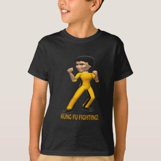 T-shirt Combat de Kung Fu