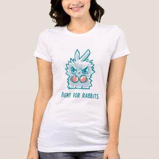 T-shirt Combat pour les lapins