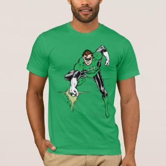 T-shirt Combat vert de lanterne