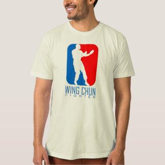 T-shirt Combattant de Chun d'aile - lignée d'homme d'IP