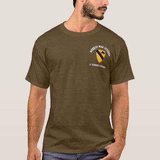 T-shirt Combattant de Guerre de Corée - ęr Cav
