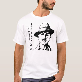 T-shirt Combattant indien de liberté de Shaheed Bhagat