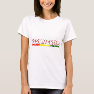 T-shirt COMBATTANTS KURDES de LIBERTÉ de Peshmerga