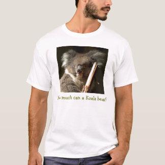 T-shirt Combien peut un ours de koala ?
