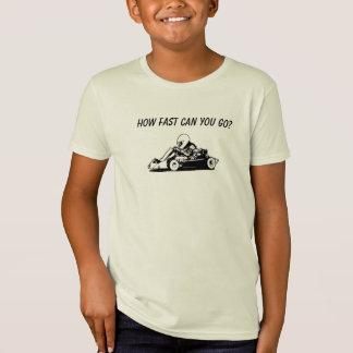 T-Shirt Combien rapidement pouvez-vous aller ?
