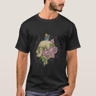 T-shirt Combustion de la bougie aux deux extrémités