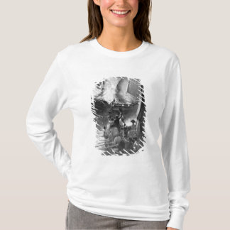 T-shirt Combustion du Gaspee
