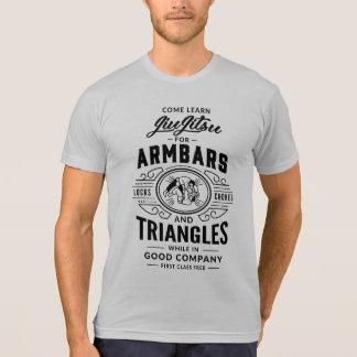 T-shirt Come apprennent Jiu Jitsu ! pièce en t de la