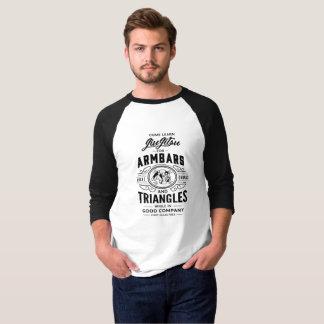 T-shirt Come apprennent Jiu Jitsu ! raglan de la douille