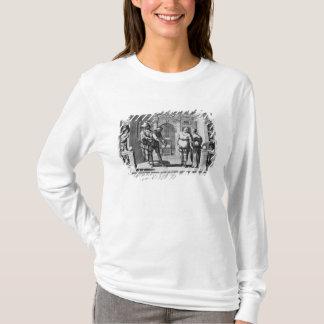 T-shirt Comédiens au théâtre d'Hotel de la Bourgogne