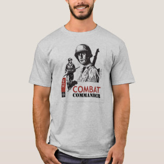 T-shirt Commandant Custom de combat