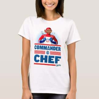 T-shirt Commandant dans le chef