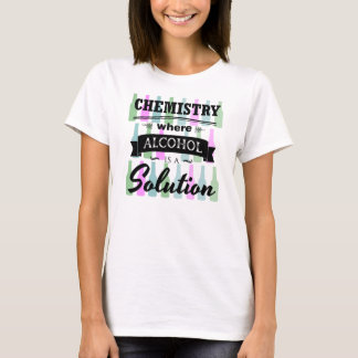 T-shirt Commandants de chimie
