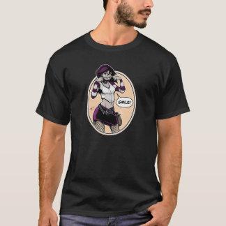 T-shirt Commande de burette - lis - polychrome