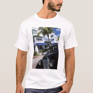 T-shirt Commande d'océan, Miami Beach la Floride