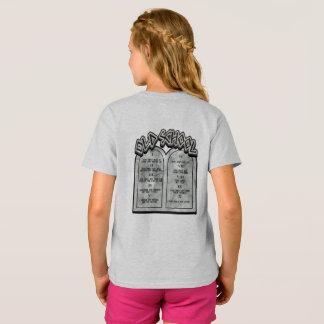 T-shirt Commandements de la vieille école Dix