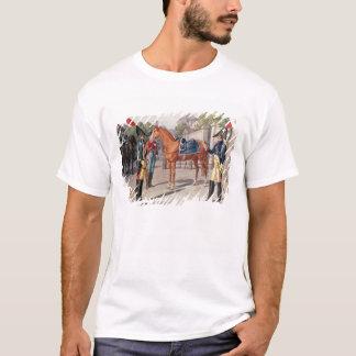 T-shirt Commandez et garde de la garde royale en 1826