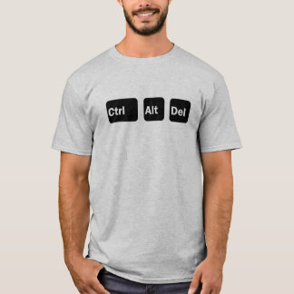 T-shirt Commandez la suppression d'alt