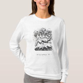 T-shirt Comme vies de salamandre en feu