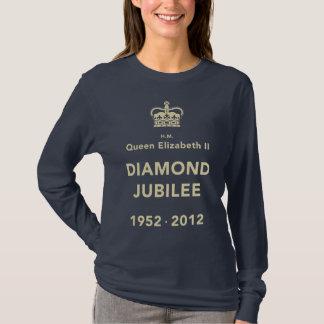 T-shirt commémoratif de jubilé de diamant [calme]