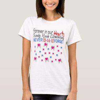 T-shirt commémoratif élémentaire de crochet de