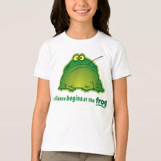 T-shirt Commencez à la plaisanterie drôle d'orchestre de