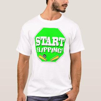 T-shirt Commencez à renverser