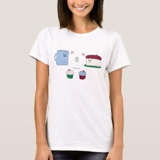 T-shirt Comment des petits gâteaux sont faits