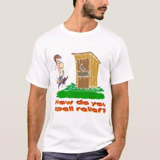 T-shirt Comment orthographiez-vous le soulagement ?