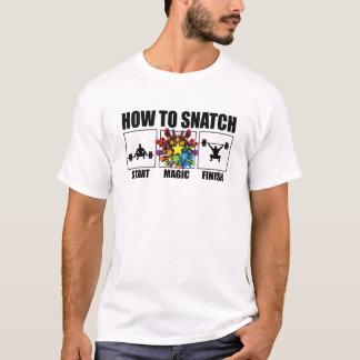 """T-shirt """"Comment saisir"""" la pièce en t de forme physique"""