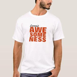 T-shirt Commettez Awesomeness